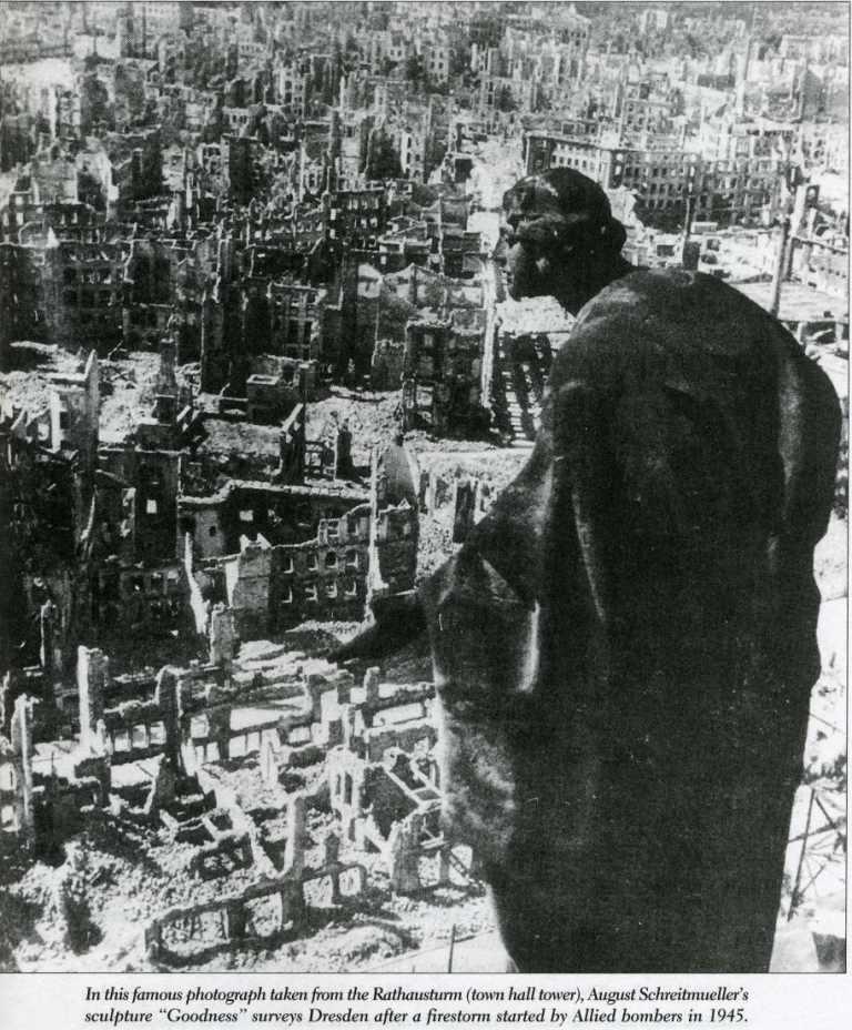 Segunda Guerra Mundial: Bombardeo de Dresden 1945dresden