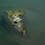 Productos químicos para dispersar la mancha de petróleo en el Golfo de México