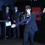 Drone esférico desarrollado por el ministerio de Defensa de Japón