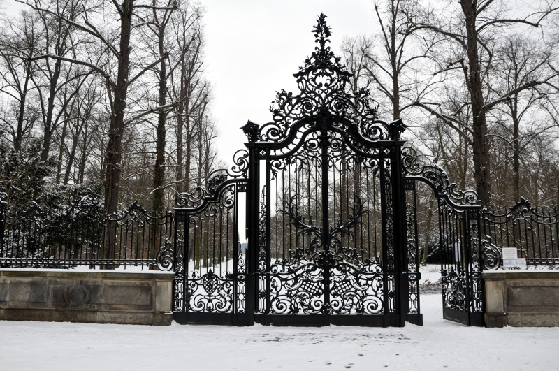 entrada del Park Sansoucci