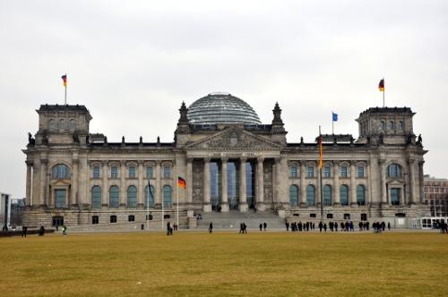 Parlamento alemán en Berlín