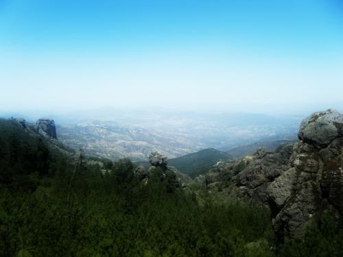 """Vista panorámica del Parque Nacional """"El Chico"""""""