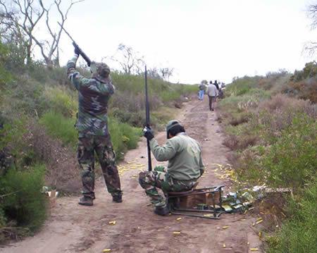 cazadores y senderistas