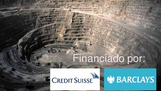 financiacion megamineria Credit Suisse y Barclays