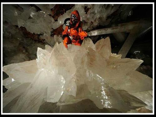La Cueva de los Cristales en Naica