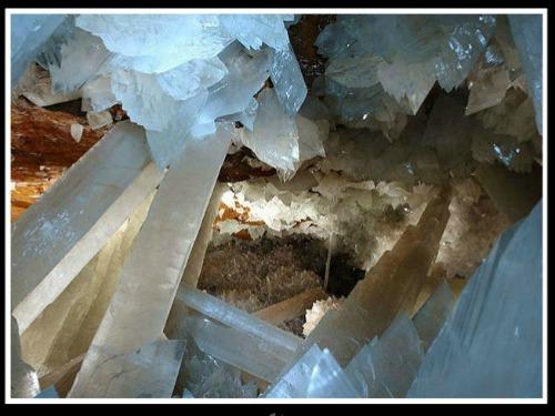 Cueva del Ojo de la Reina en Naica