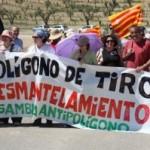 XXIII Marcha por el desmantelamiento del Polígono de tiro de las Bardenas