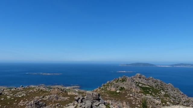 Monte Pindo vistas