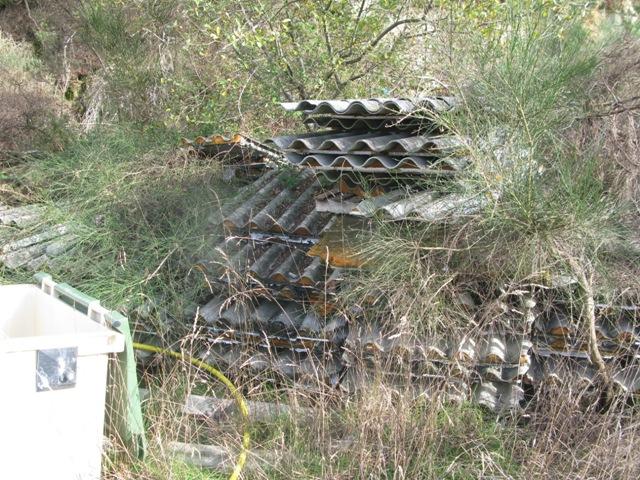 El uso de las uralitas fue prohibido por los peligros que generan contra la salud y el medio ambiente