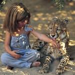 "La verdadera ""Mowgli"": Tippi Benjamine Okanti"