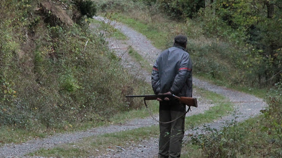 cazador_camino