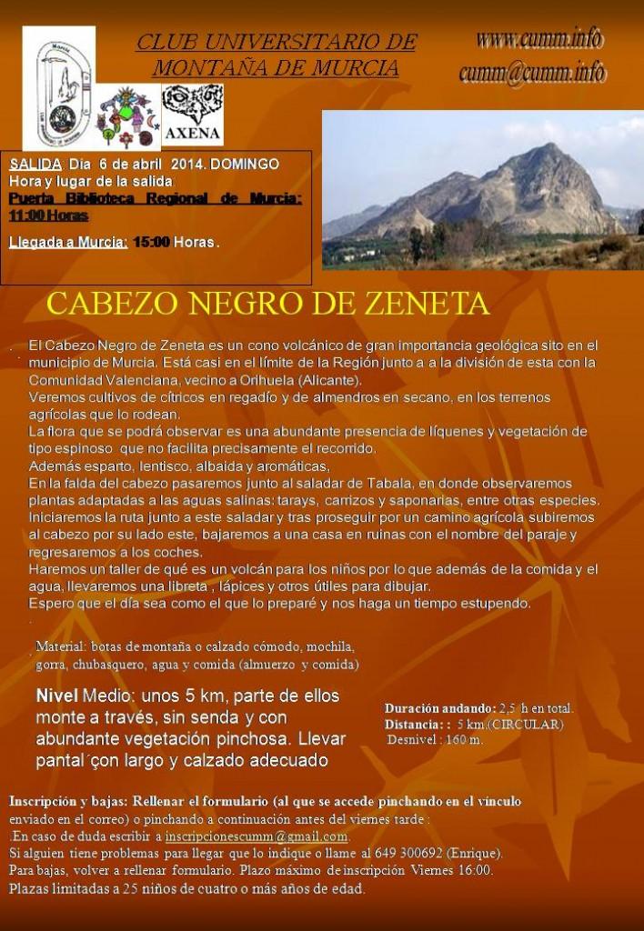 Volcán de Zeneta 1