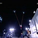 Accidente con drones en El Hormiguero