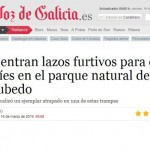 Los lazos del PN de Corrubedo saltan a la prensa