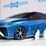 El coche de hidrógeno de Toyota