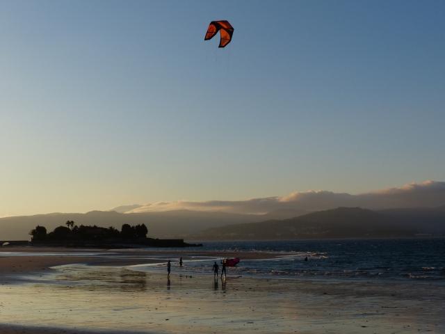 Kitesurf sur Aguieira