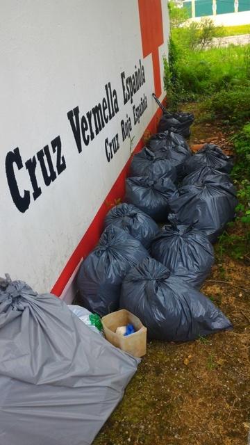 Casi 400kg de basuras catalogadas en primavera