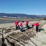 Muestreo de basuras marinas